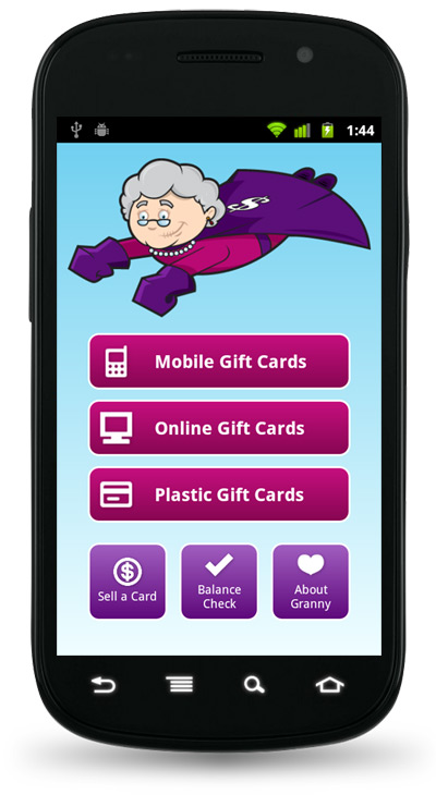 Gift Card Granny Android App