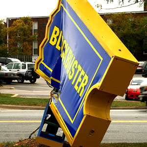 Busted Blockbuster Sign