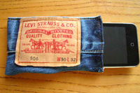 jeans ipod case