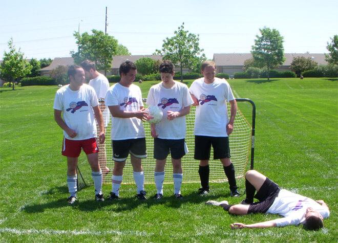 Gift Card Granny Soccer Team